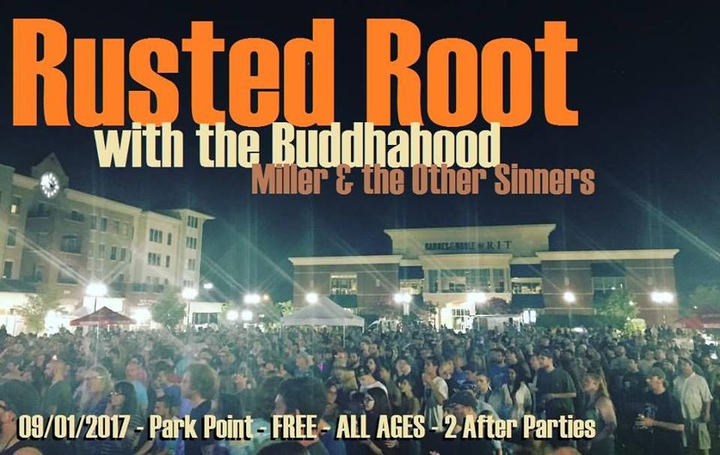 The Buddhahood @ Park Point's Concert in the Square - Rochester, NY