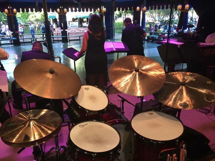 Gina Saputo @ Disneyland Royal Theatre W/ Side Street Strutters - Anaheim, CA