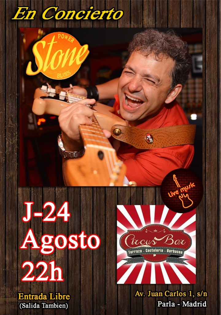 Stone Gomez @ Circus Bar (Av.Juan carlos I) - Parla, Spain