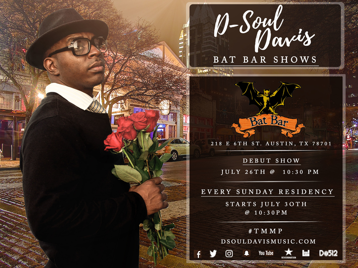 D- Soul Davis ft. Art Of Soul @ Bat Bar - Austin, TX