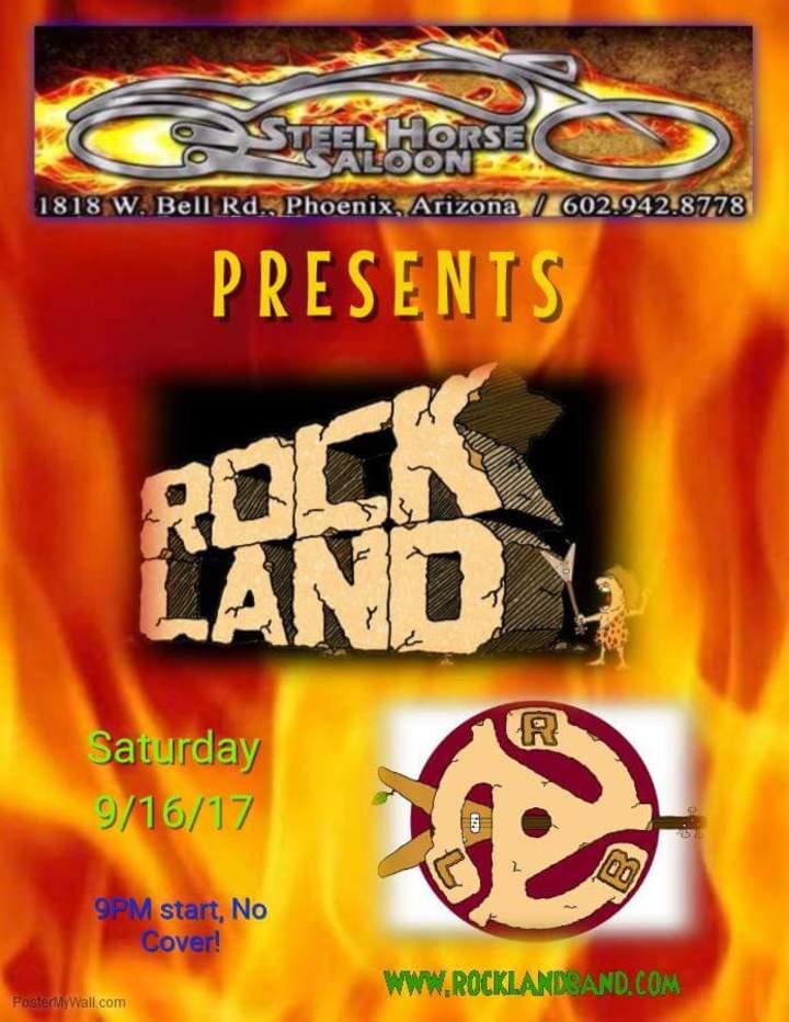 Rock Land @ Steel Horse Saloon - Phoenix, AZ