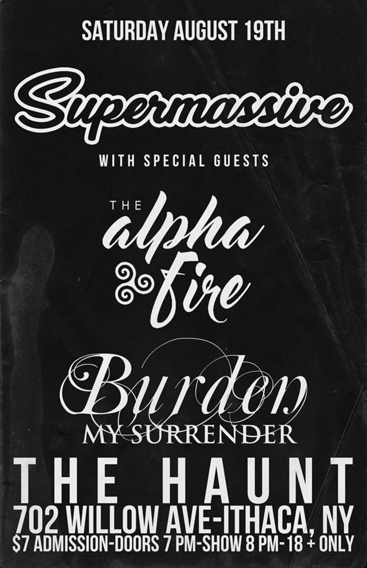 Supermassive Tour Dates