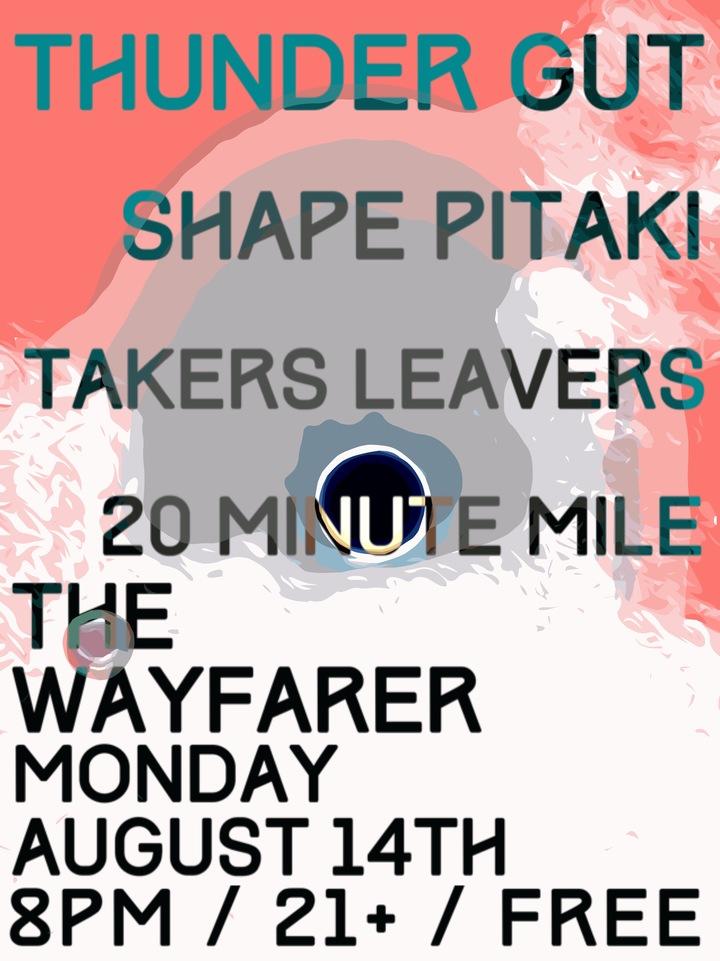 Takers Leavers @ The Wayfarer - Costa Mesa, CA