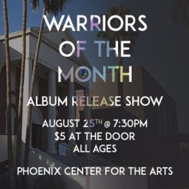 Warriors of the Month @ Phoenix Center for the Arts - Phoenix, AZ