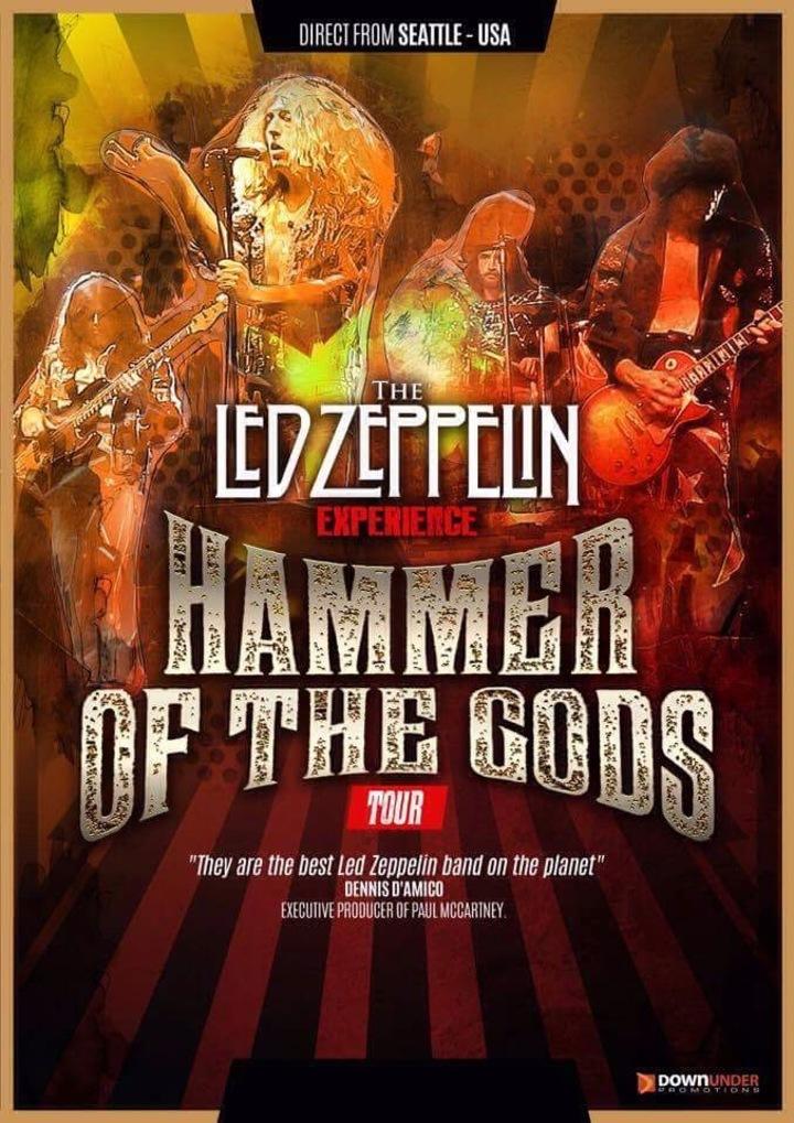 The Led Zeppelin Experience @ SS&A Club - Albury, Australia