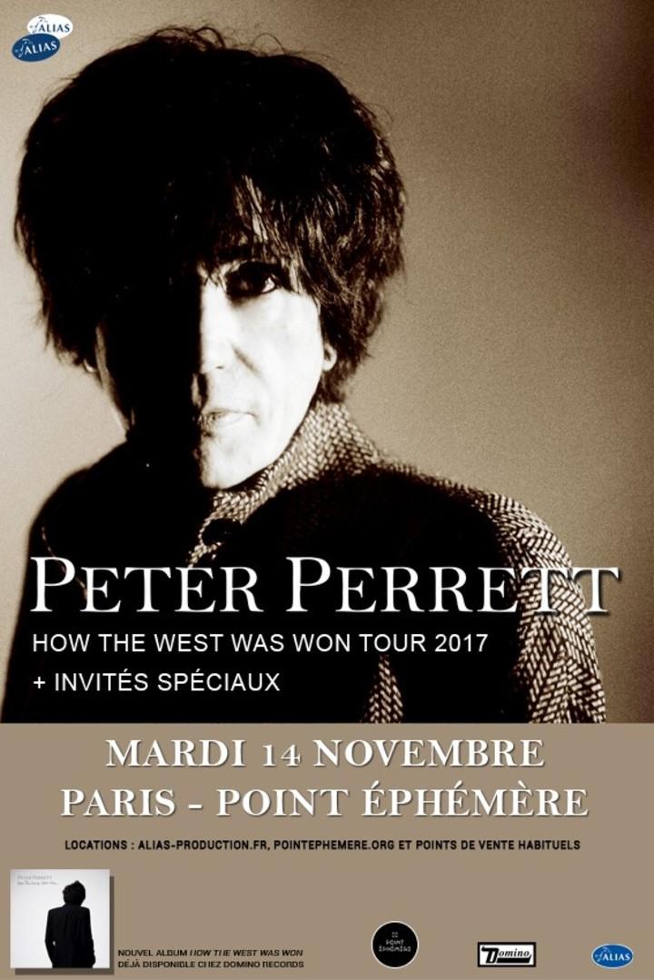 Peter Perrett @ Point FMR - Paris, France