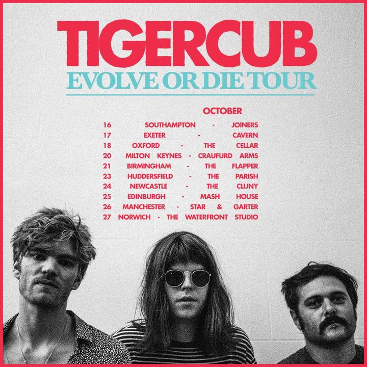 Tigercub @ The Cluny - Newcastle Upon Tyne, United Kingdom