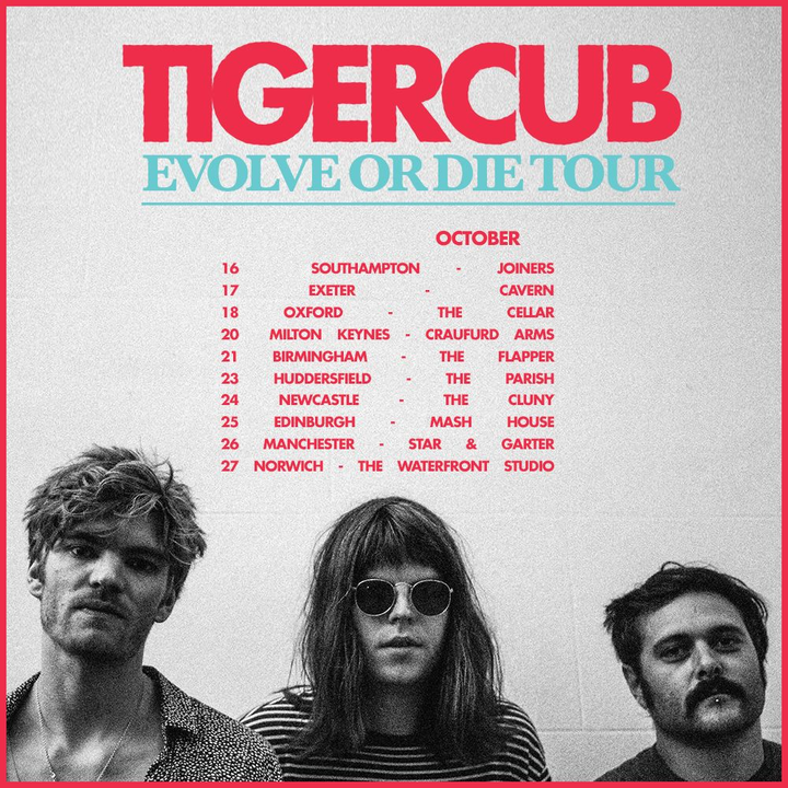 Tigercub @ Cavern - Exeter, United Kingdom
