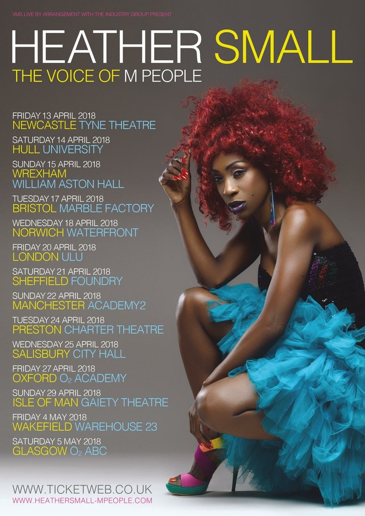 Heather Small - The Voice Of M People @ Warehouse23 - Wakefield, United Kingdom