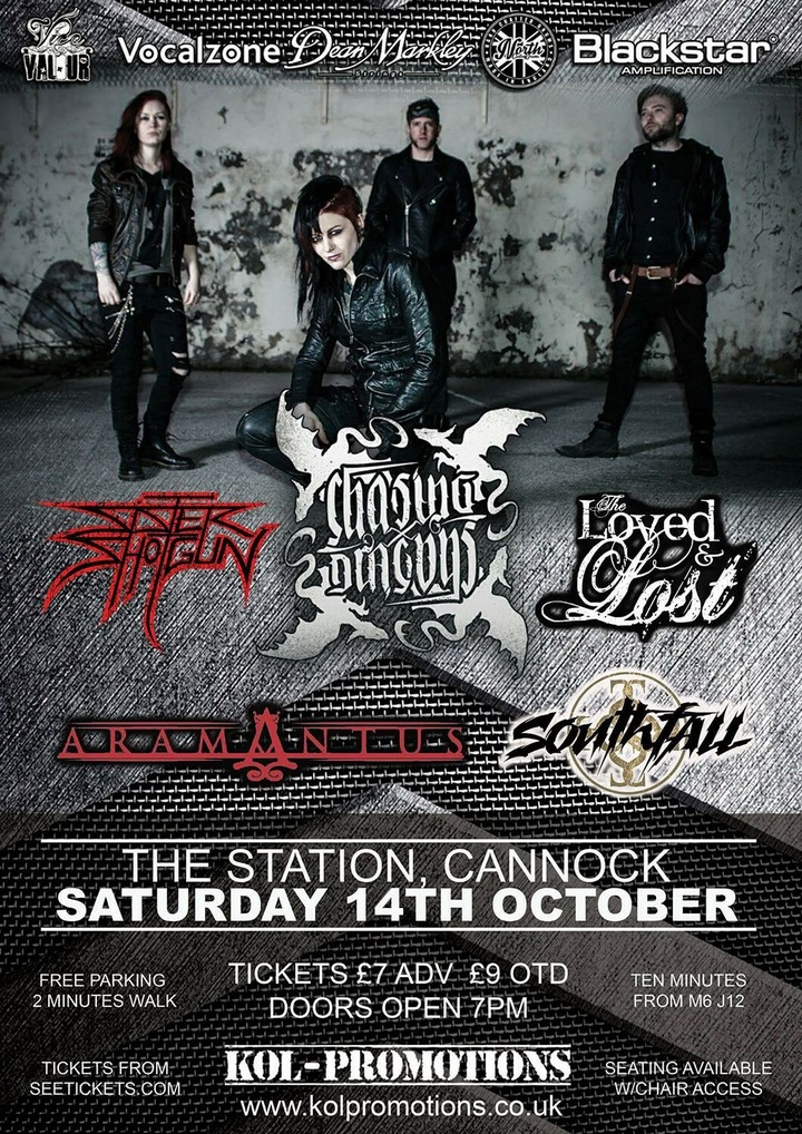 The Loved and Lost @ The Station - Cannock, United Kingdom