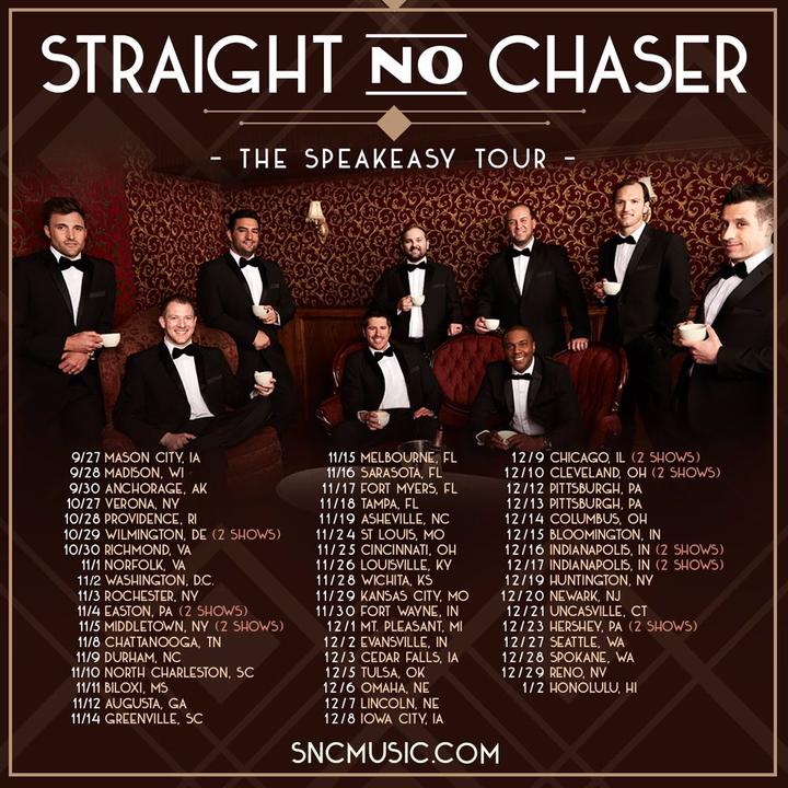 Straight No Chaser @ Bell Auditorium - Augusta, GA