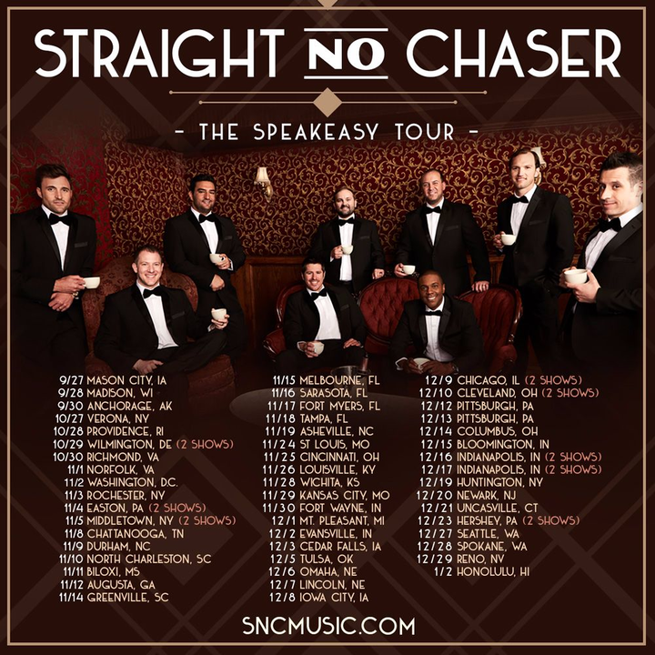 Straight No Chaser @ New Jersey Performing Arts Center - Newark, NJ