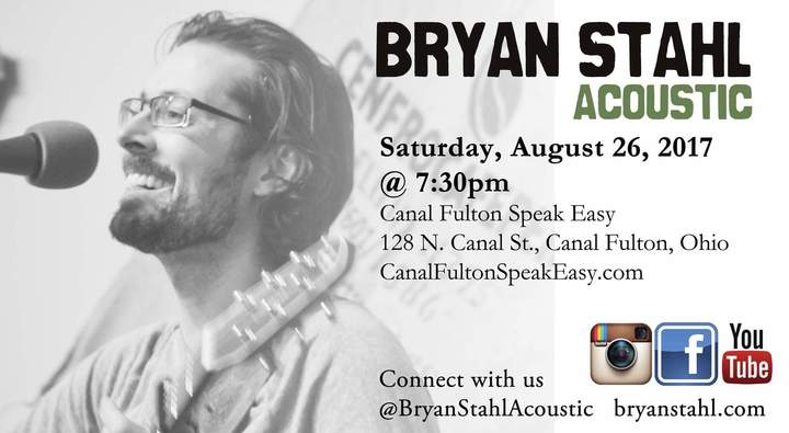 Bryan Stahl Acoustic @ Speak Easy: Coffee & Conversation - Canal Fulton, OH