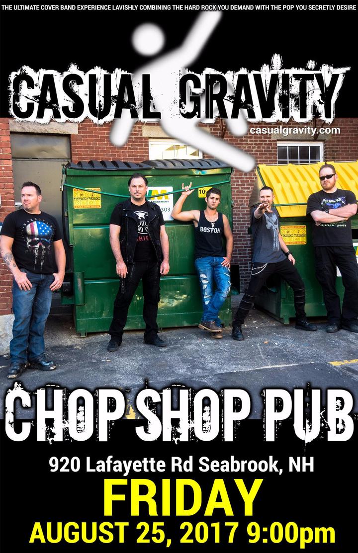 Casual Gravity @ Chop Shop Pub - Seabrook, NH