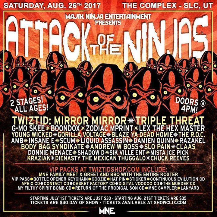 AMB (Axe Murder Boyz) Tour Dates