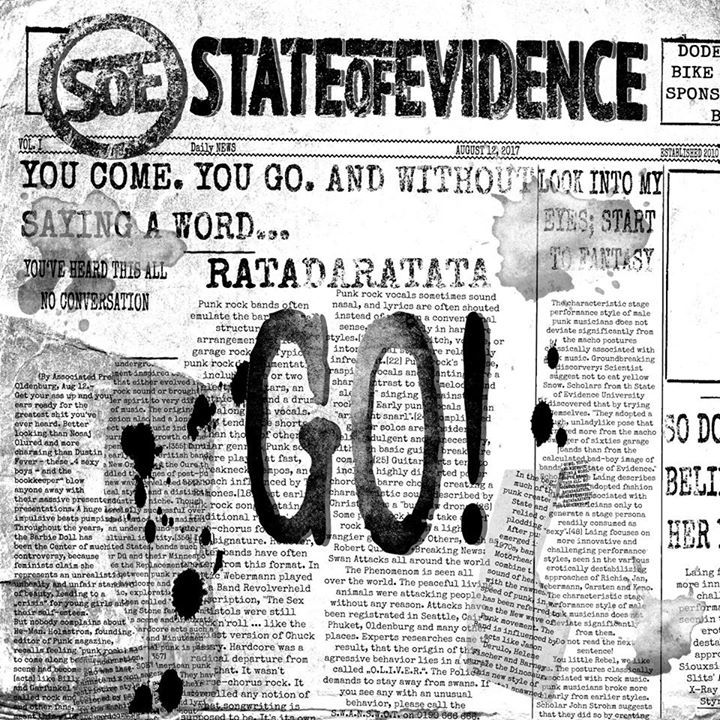 State Of Evidence Tour Dates
