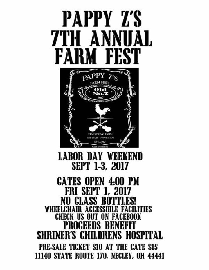 Third Class @ Pappy Z's Farm Fest - Negley, OH