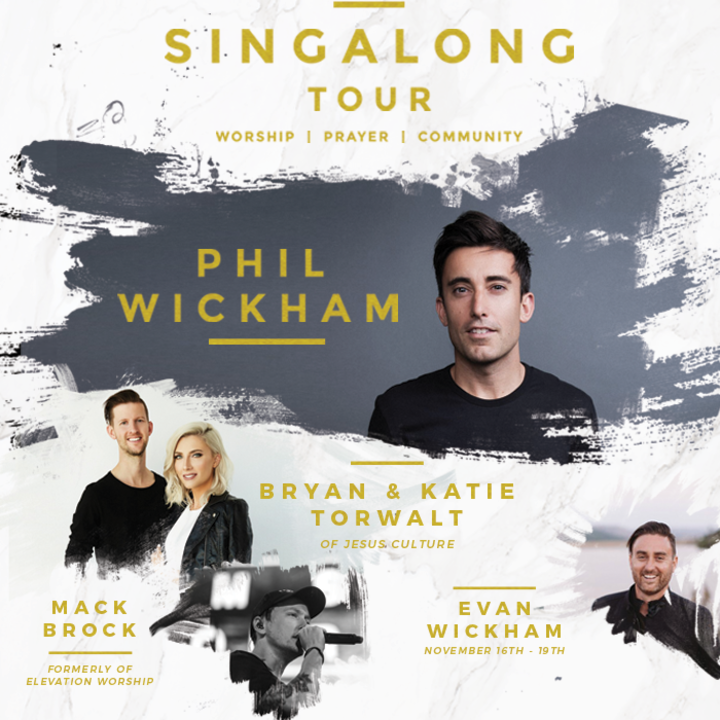 Phil Wickham @ Singalong Tour / Vineyard Church North Phoenix - Glendale, AZ