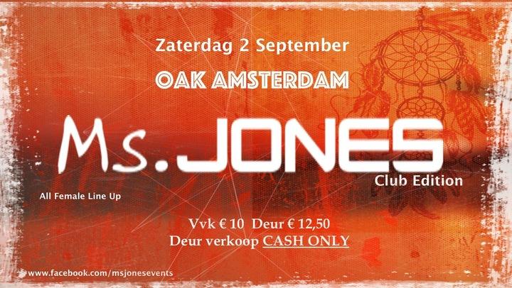 Sjeazy Pearl @ oaK - Amsterdam, Netherlands