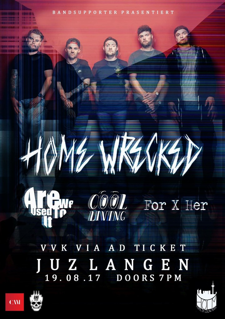 Home Wrecked @ Jugendzentrum - Langen (Hessen), Germany