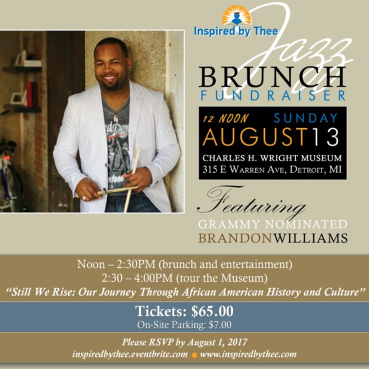 Brandon Williams @ Charles H. Wright Museum of African American History - Detroit, MI