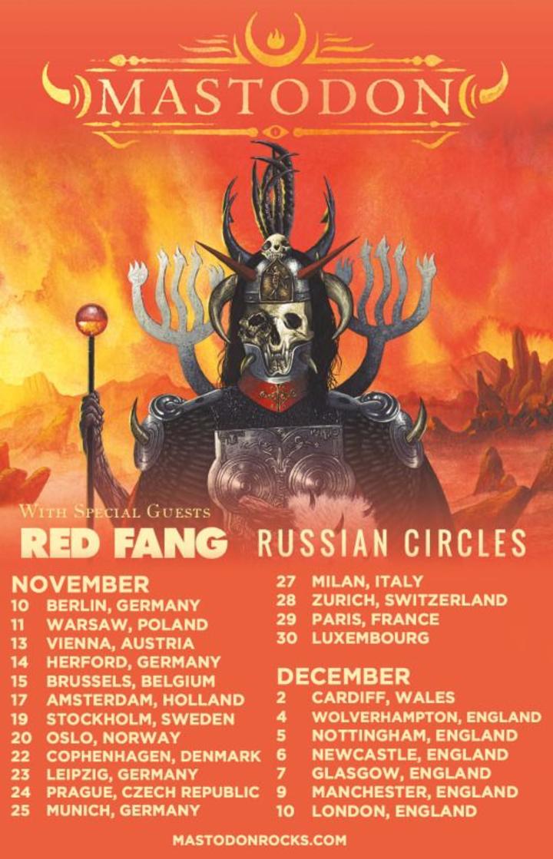 Russian Circles @ Vega Main Hall - Copenhagen, Denmark