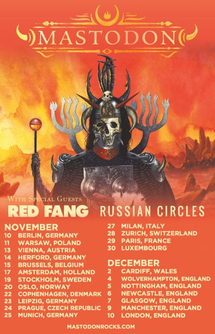 Russian Circles @ Rockhal Club - Luxembourg, Luxembourg