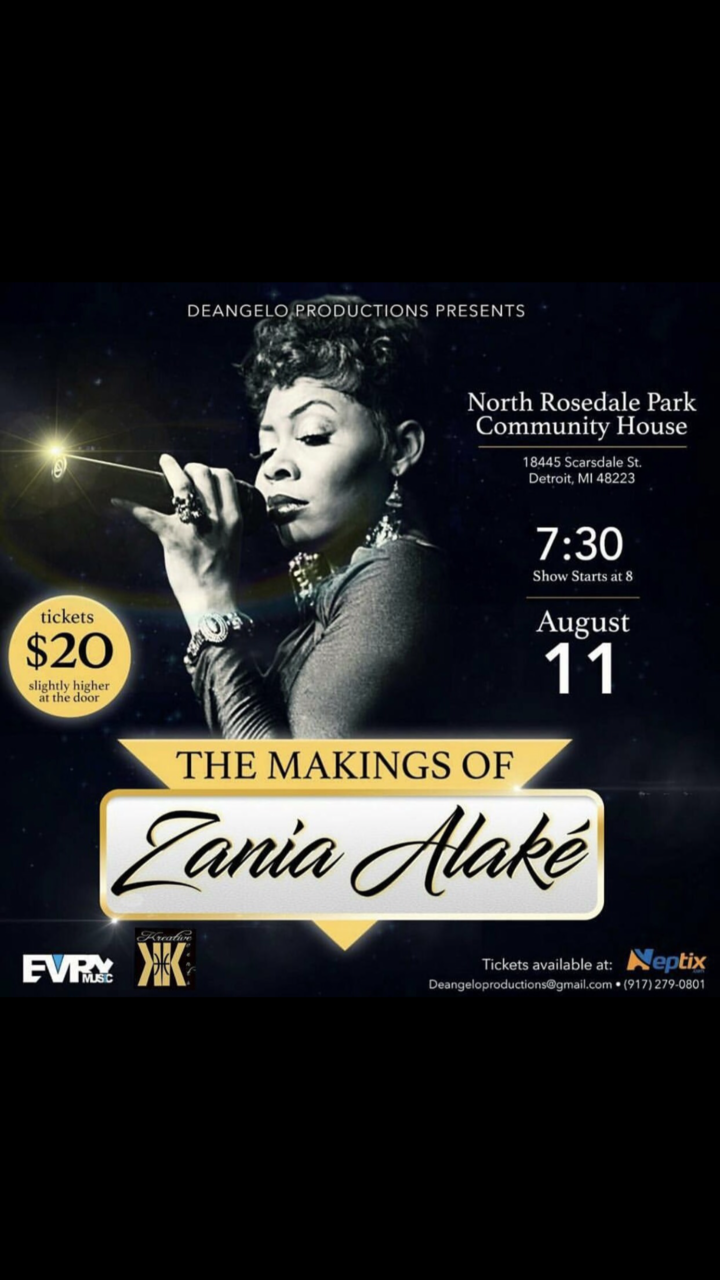 Zania Alaké Tour Dates