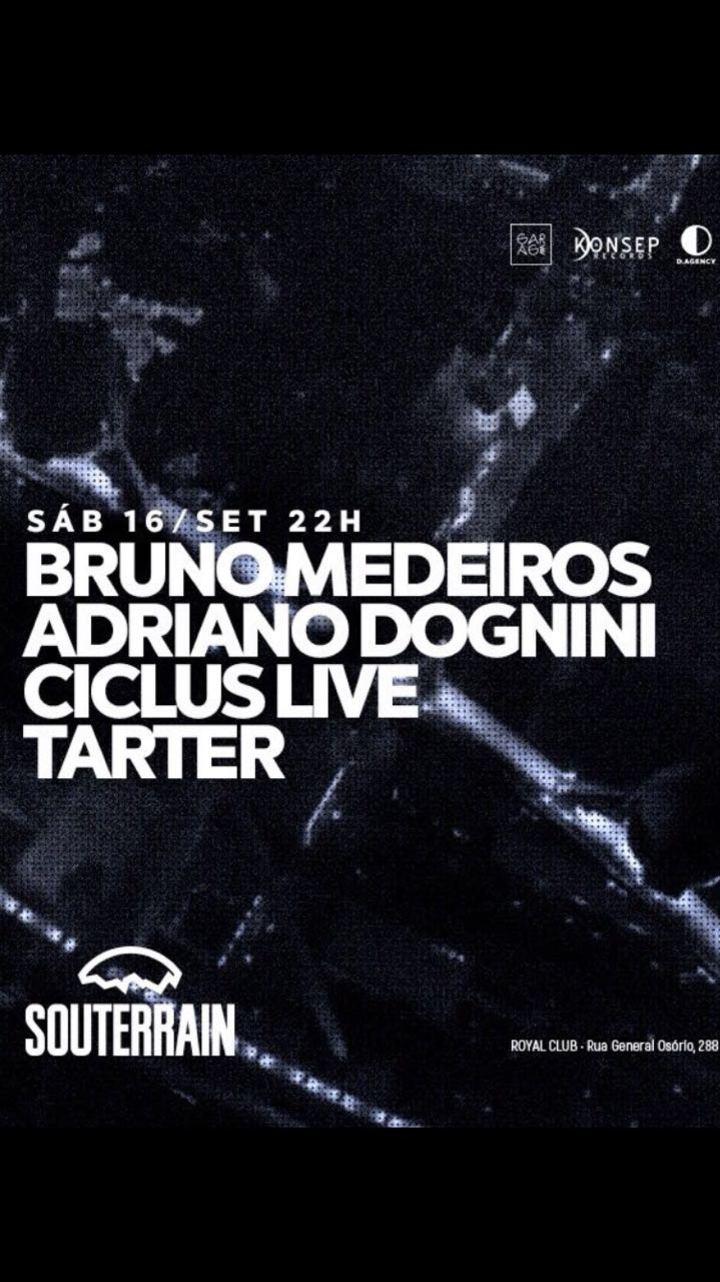 Adriano Dognini DJ @ Souterrain - Brusque, Brazil