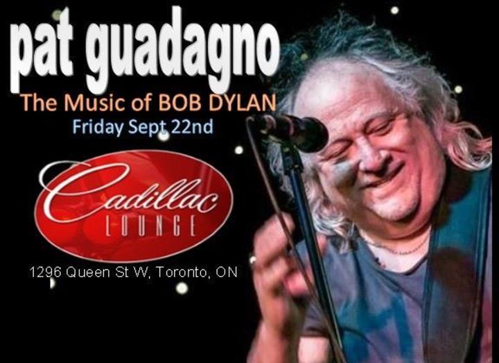 Pat Guadagno @ The Cadillac Lounge - Toronto, Canada