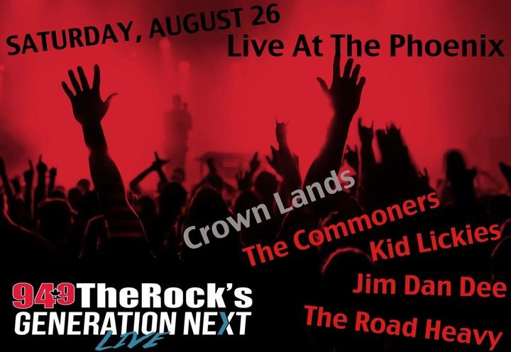 Crown Lands @ The Phoenix Concert Theatre - Toronto, Canada