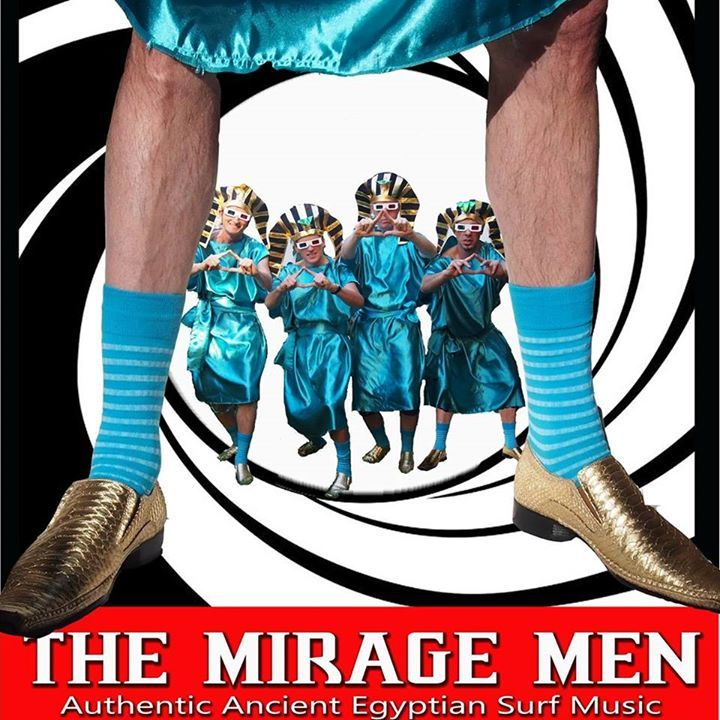 The Mirage Men Tour Dates