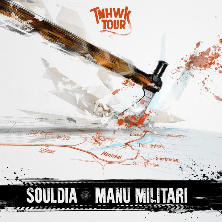 Manu Militari @ Salle Félix-Leclerc (TMHK Tour) - Val-D'or, Canada