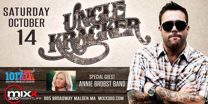Annie Brobst @ Opening For Uncle Kracker - Mixx 360 - Malden, MA