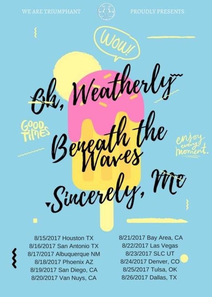 Oh, Weatherly @ House Show - Houston, TX
