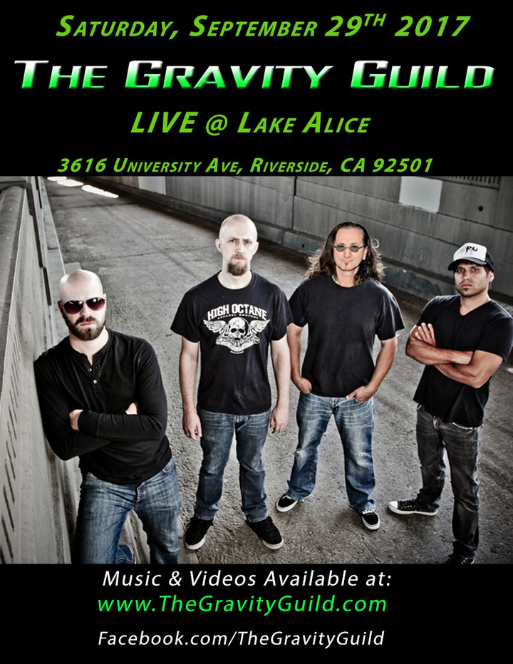 The Gravity Guild @ Lake Alice Saloon & Eatery - Riverside, CA