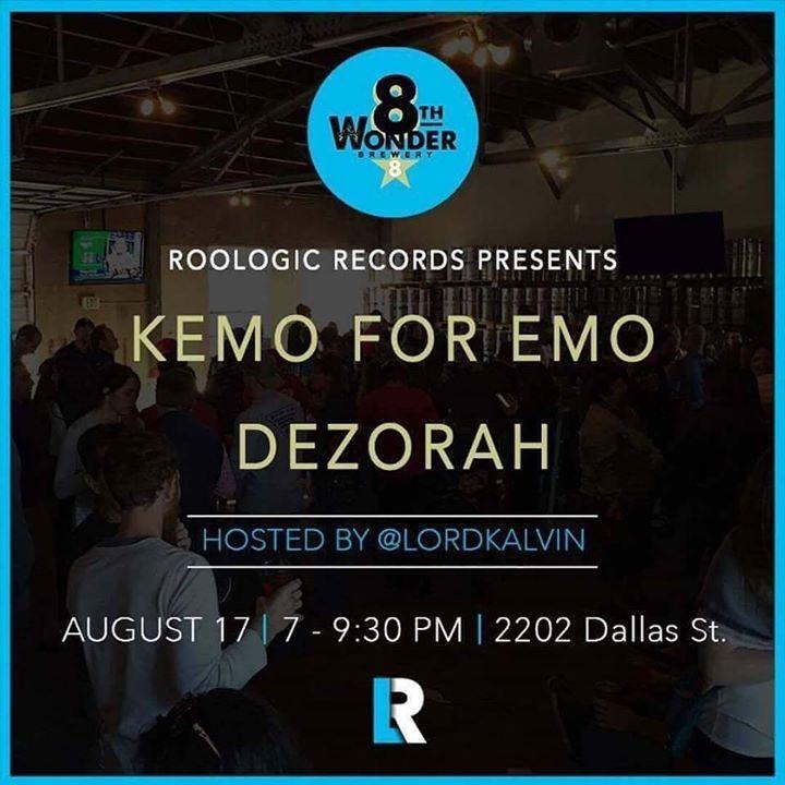 Kemo For Emo Tour Dates