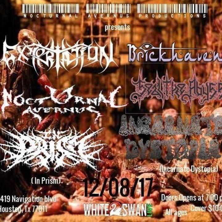 Nocturnal Avernus Tour Dates