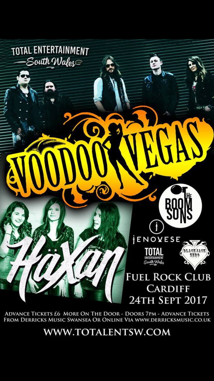 The Boom Sons @ Fuel  - Cardiff, United Kingdom