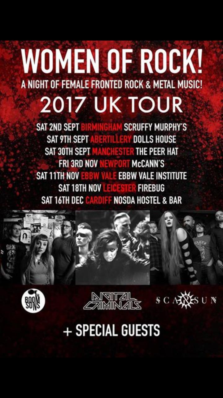 The Boom Sons @ Nos Da  - Cardiff, United Kingdom