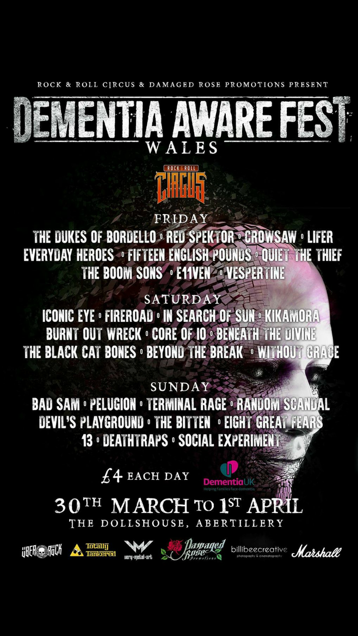 The Boom Sons @ The Doll Ahouse  - Abertillery, United Kingdom