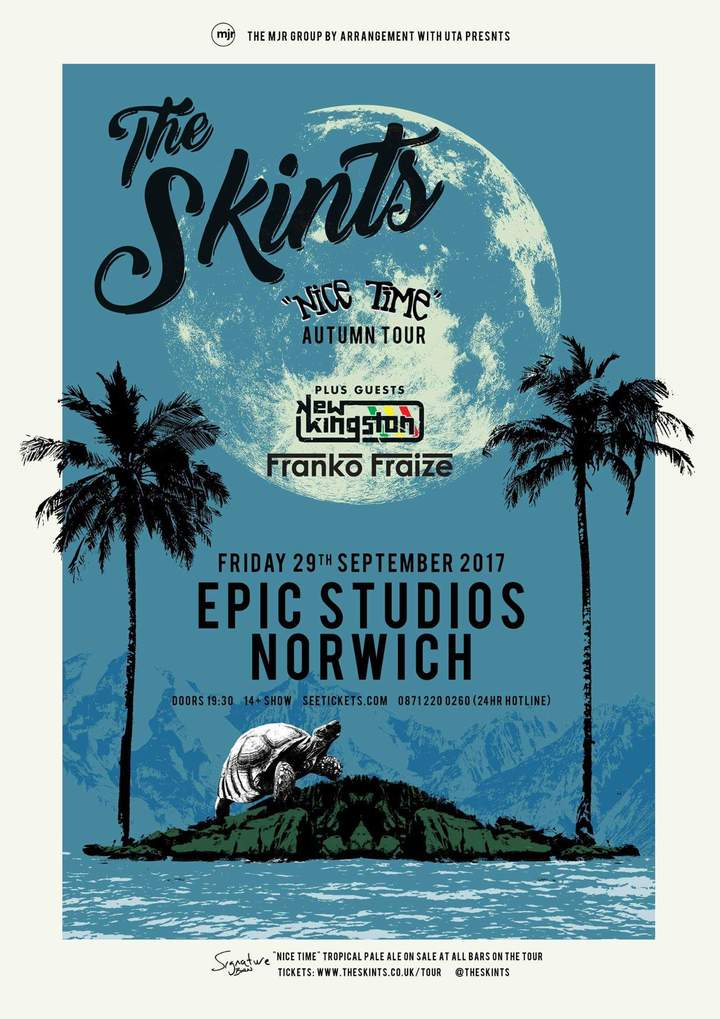 Franko Fraize @ Epic Studios - Norwich, Uk
