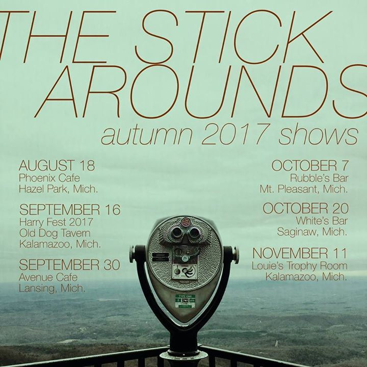 The Stick Arounds @ Louie's Trophy Room - Kalamazoo, MI