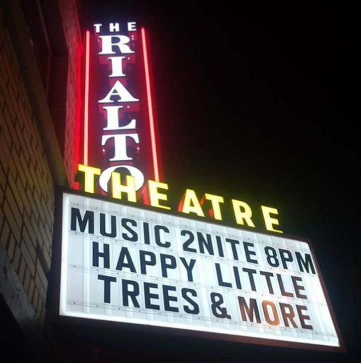 The Happy Little Trees Tour Dates