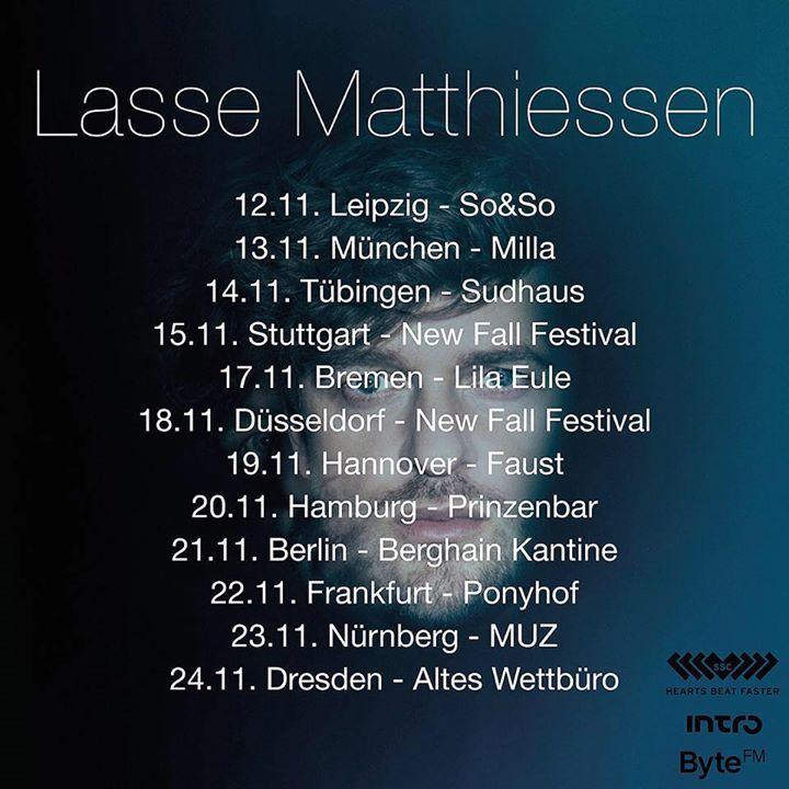 Lasse Matthiessen @ Prinzenbar - Hamburg, Germany