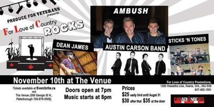 Ambush Army @ The Venue - Peterborough, Canada