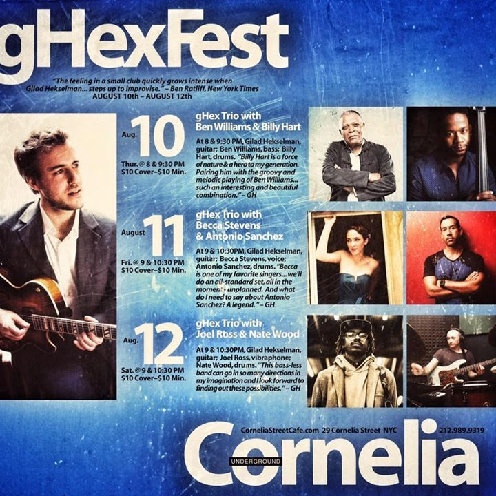 Gilad Hekselman Tour Dates