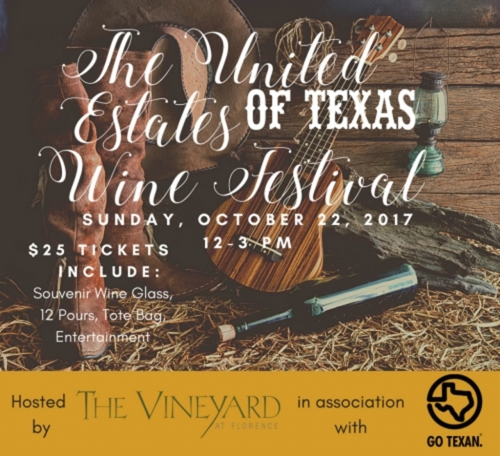 Will Southern @ United Estates Of Texas Wine Festival - Florence, TX