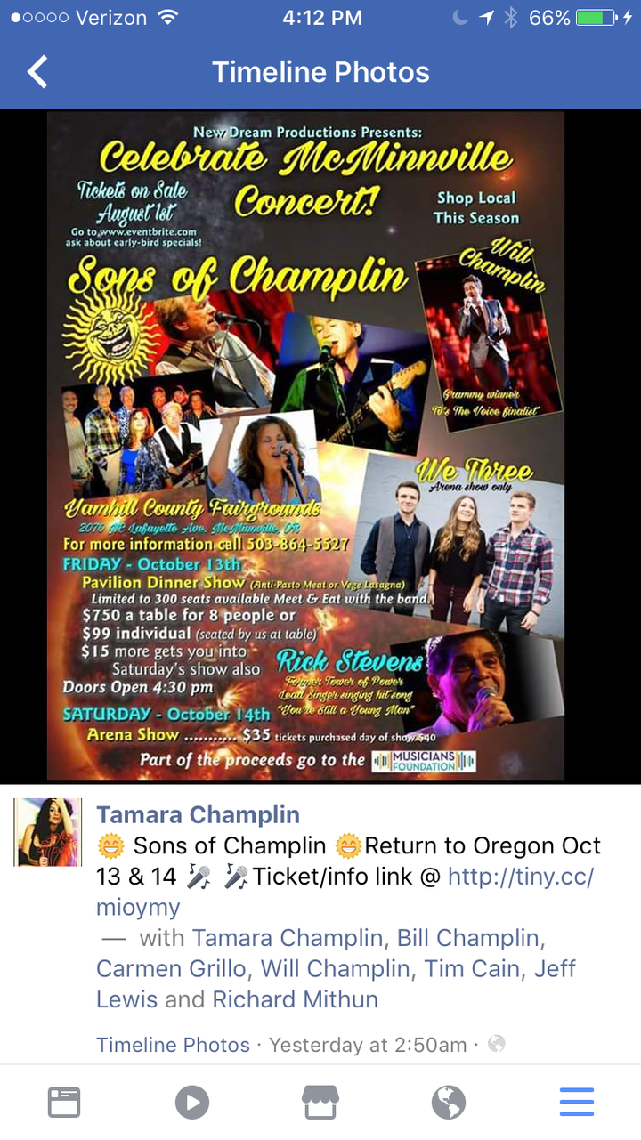 Will Champlin @ Yamhill County Fairgrounds  - Mcminnville, OR