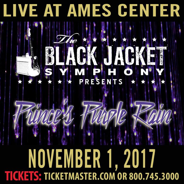 "The Black Jacket Symphony @ Ames Center - Performing Prince's ""Purple Rain"" - Burnsville, MN"